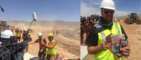 Atari 'E.T.' Landfill Excavation: Proof Of Gaming's Greatest Urban Legend Found In New Mexico [PHOTOS]