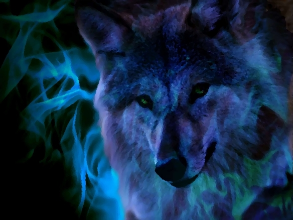 Wolfs Magic by ted786 from Deviantart